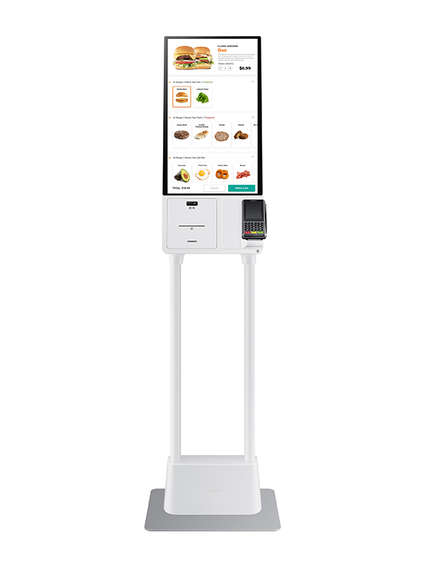 Samsung Kiosk Stand - Front