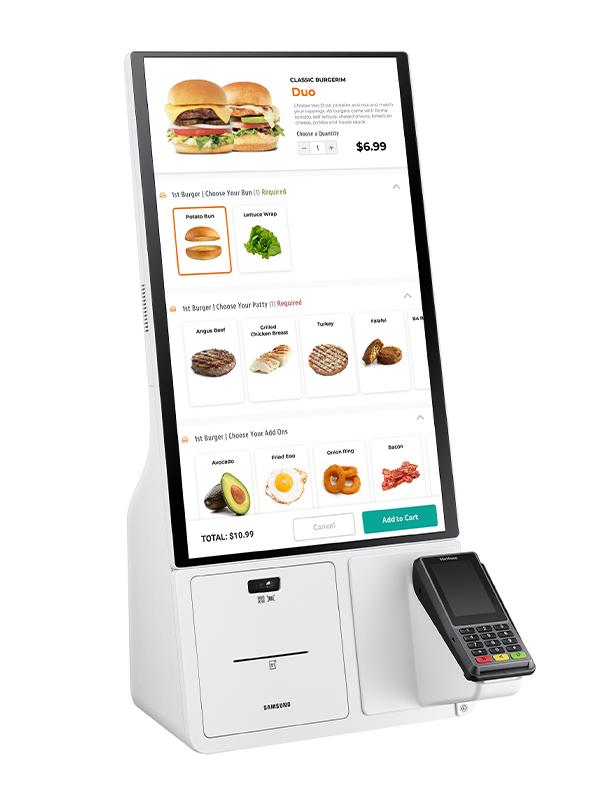 Samsung Kiosk Tabletop - Right